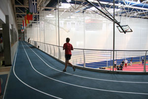 University of Limerick indoor all-weather running track