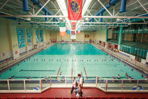 University of Limerick indoor swimming pool